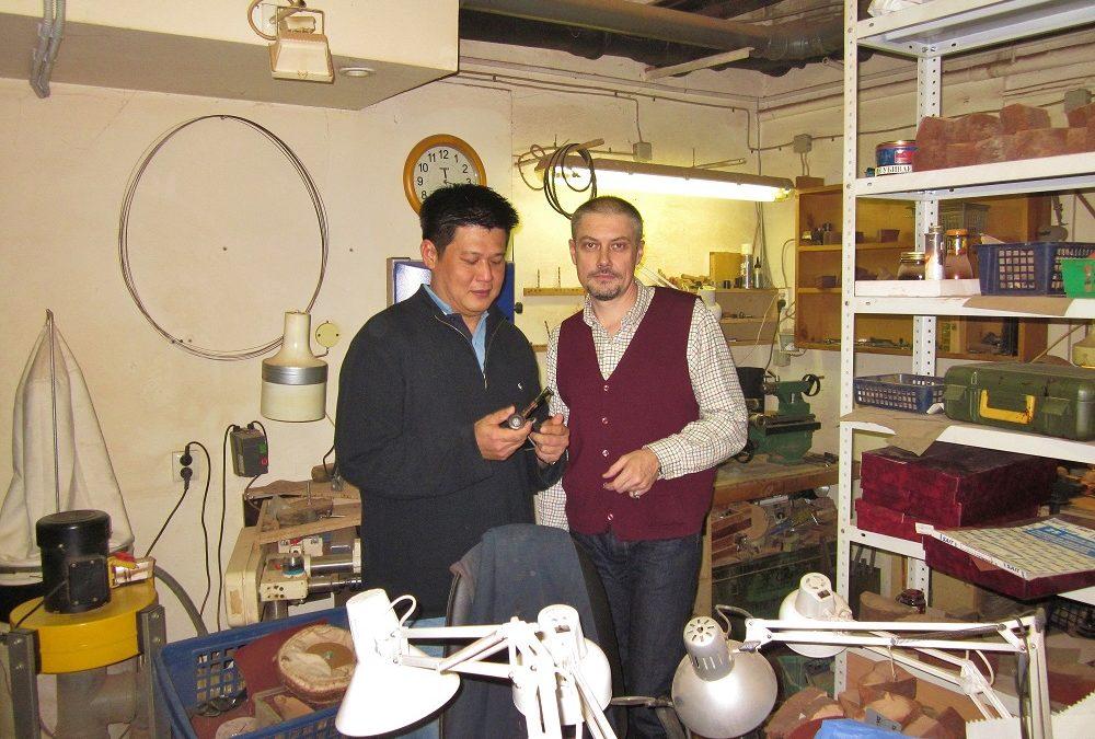 Visiting St. Petersburg workshop